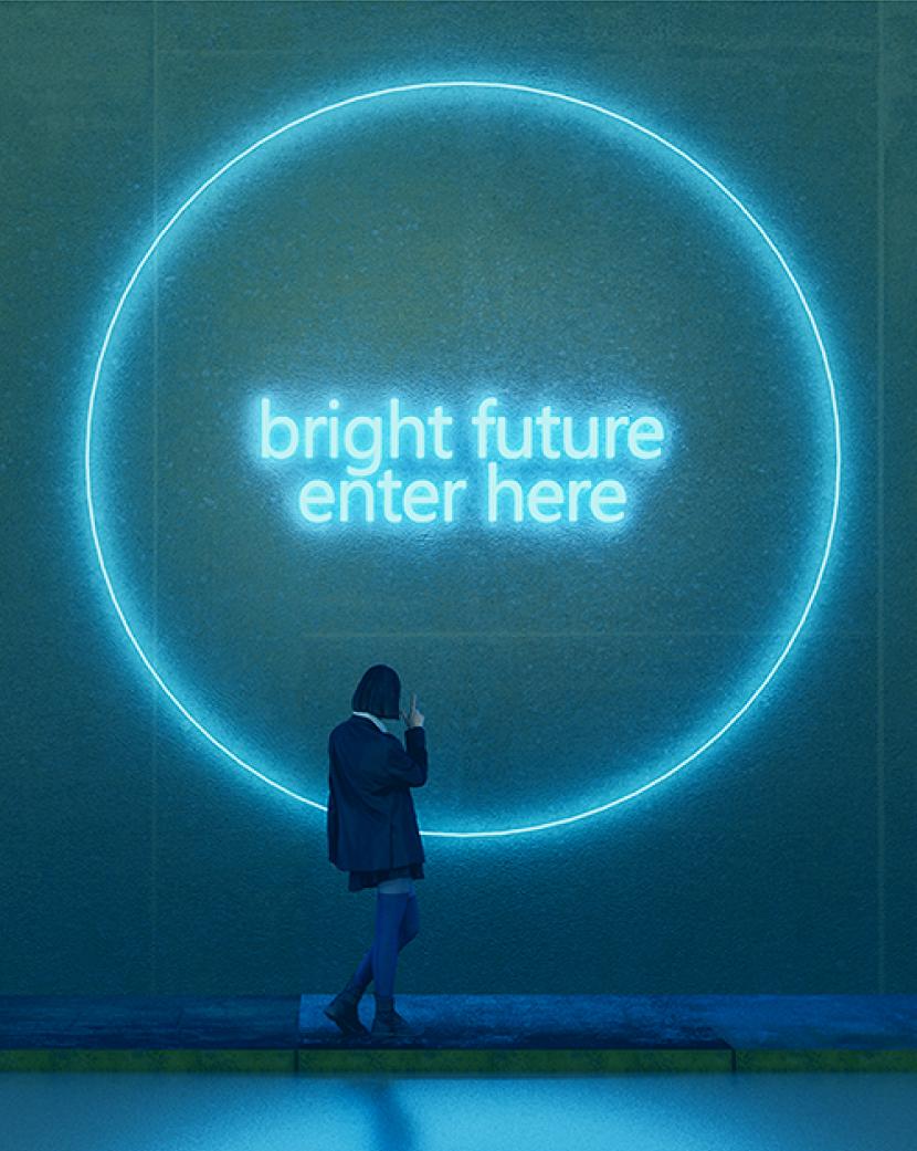 Bright Future Enter Here